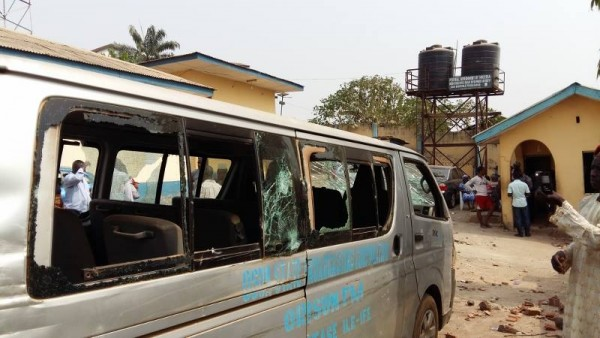 Non Payment Of WAEC Fees| Students Vandalize And Destroy Properties In Osun