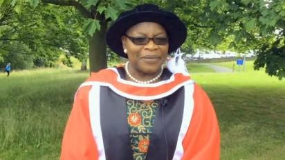 Oby Ezekwesili receives doctorate degree from UK varsity