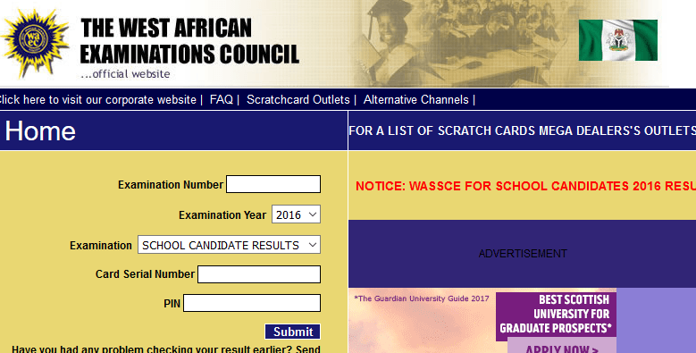 WAEC 2017 May/June Result Is Now Available Online – Check Yours Now
