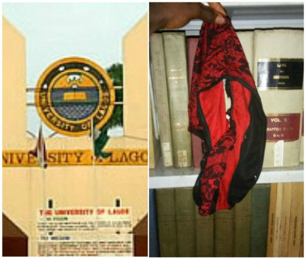 Lady forgets her underwear in UNILAG Law Students library after quick s*x (Photo)