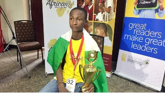 Kings College pupil, Sheriff is Africa Spelling Bee champion